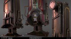 ArtStation - Whale oil dispenser Dishonored 2, Eric Pira