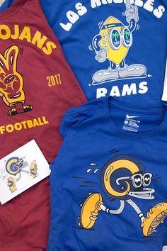 Steven Harrington Nike Football T Shirts Tees USC Trojans Los Angeles LA Rams Seattle Seahawks 2017 November Release Date Info