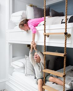 bunk bed rope ladder