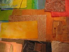 One A Day: Painting Papers for Collage