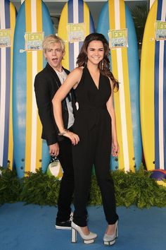 Australian actress, Maia Mitchell with ex-boyfriend Ross Lynch...