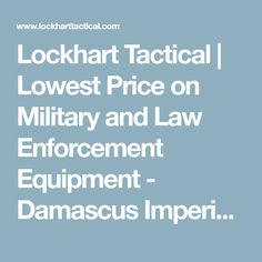 Lockhart Tactical | Lowest Price on Military and Law Enforcement Equipment - Damascus Imperial Thigh / Groin Protector w/ Molle System
