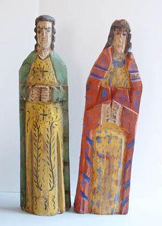 Mexican folk art - santos