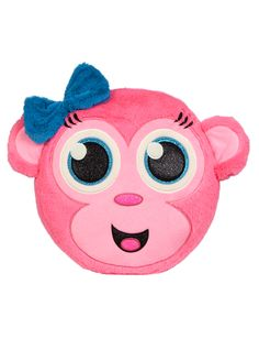 Round Monkey Plush Pillow   Sleeping Bags & Pillows   Room Decor   Shop Justice