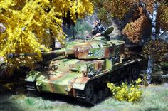 King & country. Pz IV in ambush