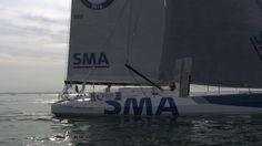 Transat New York Vendée - Arrivee de Paul Meilhat - SMA- aux Sables d'Ol...