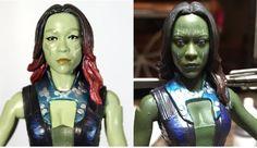 Gamora Marvel Legends Custom Repaint Action Figure