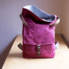 Backpack no.1 - in three colors