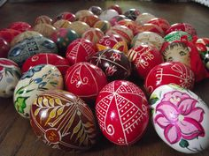 Hand Decorated Hungarian Easter Egg