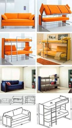 """Awesome """"murphy bed ideas space saving"""" information is offered on our site. Check it out and you wont be sorry you did. Murphy Bed Ikea, Murphy Bed Plans, Murphy Bunk Beds, Space Saving Bedroom, Space Saving Furniture, Resource Furniture, Furniture Websites, Convertible Furniture, Convertible Bed"""