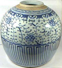18th C. Qing Dynasty Porcelain Vase