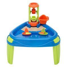 Got this water table online at big lots for $15 put it in the kiddie pool