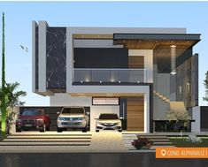 Modern architecture house · new home designs · arquitetura addicts (