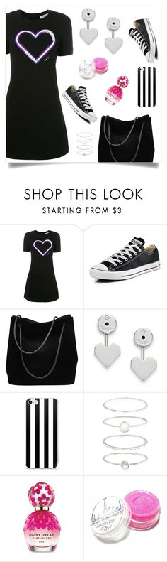 """""""Converse"""" by tina-pieterse ❤ liked on Polyvore featuring Carven, Converse, Gucci, FOSSIL, Accessorize and Marc Jacobs"""