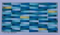 MadeToOrder-ModernWave Wood Wall Art, Nautical Waves, Beach House Décor, Nautical Décor on Etsy, $200.00 AUD