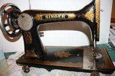 Singer 27~ 1890's Persian Decal back