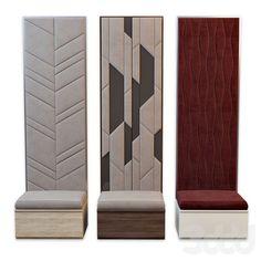 Bed Headboard Design, Headboards For Beds, Upholstered Wall Panels, Florence Art, Restoration Hardware Bedding, Padded Wall, Decoration Entree, Home Entrance Decor, Appartement Design
