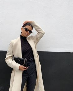 Winter Fashion Outfits, Trendy Fashion, Winter Outfits, Autumn Fashion, Winter Ootd, Fashion Ideas, Classy Outfits, Chic Outfits, Work Outfits