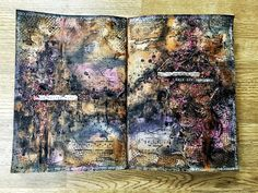 Mixed Media Place: 'Contemplation' - Art Journal Page By Georgie Connelly