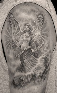 Guardian Angels Tattoos  Tattoo Designs picture 3156
