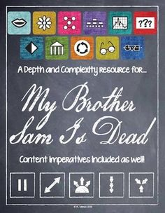 Depth and Complexity Companion for My Brother Sam Is Dead