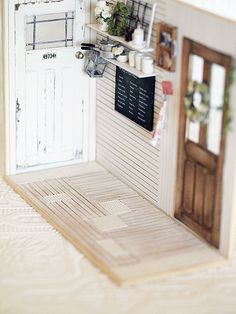 miniature* natsural kitchen : natural色の生活~handmade家具