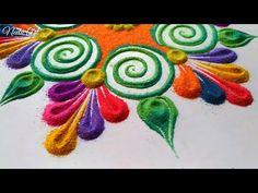 Beautiful rangoli rangoli for holi special 2019🔥 - YouTube
