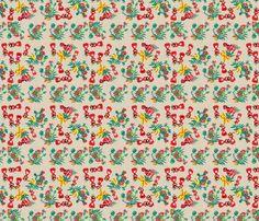 Village Girls -293 fabric by kkitwana on Spoonflower - custom fabric