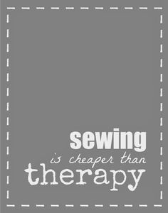 New ideas for sewing quotes therapy Sewing Hacks, Sewing Crafts, Sewing Projects, Sewing Ideas, My Sewing Room, Sewing Rooms, Sewing Humor, Quilting Quotes, Sewing Quotes