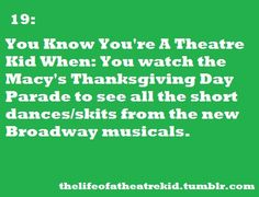 Actually me.  By the way does anyone want to talk about how just this thanksgiving I was dreaming of seeing Newsies for the first time and tomorrow I'll be seeing it for the second time in the front row or