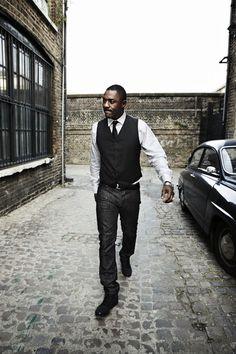 "thefiercening: "" where is my bond movie "" Idris Elba waits for no franchise."