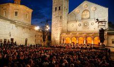 Festival of the two worlds or Festival dei due mondi (Spoleto, Umbria)