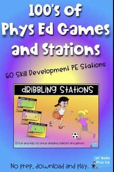 The Essential Physical Education Games and Stations Package! Save combining 4 of my best Phys Ed Packs. Over 130 Phys Ed stations, warm up games, small sided games and whole group activities for your Physical Education classes Pe Games For Kindergarten, Pe Games Elementary, Elementary Physical Education, Physical Education Activities, Health And Physical Education, Preschool Games, Education Quotes, Elementary Schools, Motor Activities