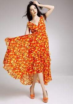 New Lady Women's Summer Wear Hollowed Inspiration Flowers Jumper Skirt Dress on AliExpress.com