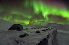 El fotógrafo Olivier Grunewald apunta al cielo en latitudes muy altas.