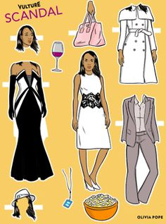Here Are Vulture's Scandal Paper Dolls