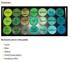 Mac Palette Green