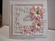 AbFab Designs: Sunflowers in the Pink Card Making Inspiration, Making Ideas, Heartfelt Creations Cards, Hand Made Greeting Cards, Spellbinders Cards, Embossed Cards, Pretty Cards, Flower Cards, Creative Cards