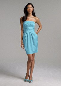 Possibility for Bridesmaids dress, but in Horizon blue..