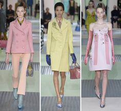 """Milan:Miuccia Prada has everyone 'thinking' what was Miuccia 'thinking when she designed her latest collection: """"I was thinking what women..."""
