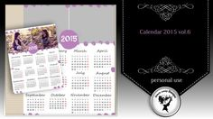 Calendar 2015 vol.6 by Black Lady Designs