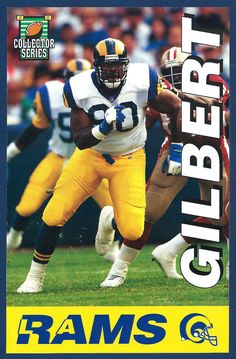 la rams sean gilbert 1994 la times collector series   27 of 32 from  3.0. Los  Angeles Rams 27628b568