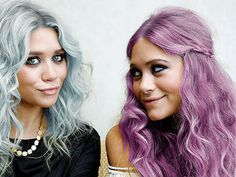 Cotton Candy Hair by two of my favorite fashion gurus.