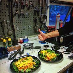 God mat = gode mekanikere #prosykkelservice