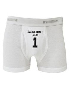 TooLoud Basketball Mom Jersey Boxer Briefs