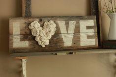 schätzli vintage: blog: project(s) update: fence wood *LOVE* sign