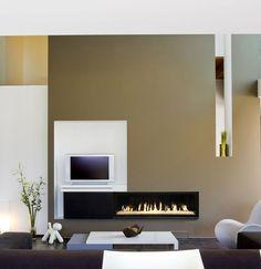 Cheminée gaz design Bodart et Gonay. http://www.atryhome.com