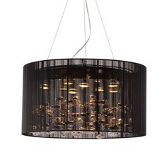 Symphony Chandelier | dotandbo.com. RUH-roh. I'm usually kind of a hater when it comes to sparkly and spangly chandeliers for residential use, but the smoky insinuations of this one get me. There really *is* something out there for everyone, isn't there.