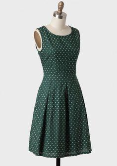 Petit Trianon Polka Dot Dress