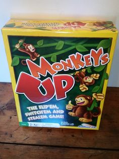 Learn and Play with Monkeys Up from #RoosterFin Games